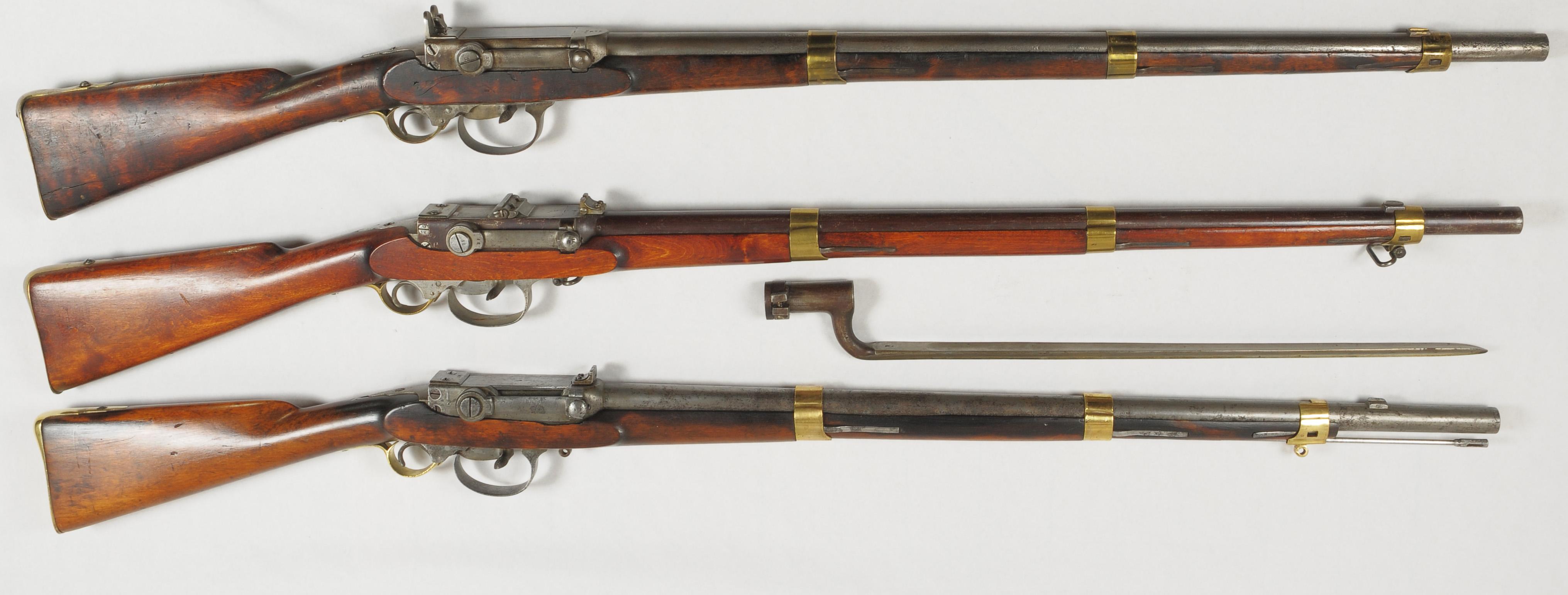 Rifle-Kongsberg-Kammerlader-M1845-M1845-